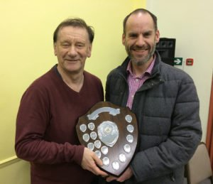 Camberley Chess Club Pictures - 2016 Outstanding Player of the Year Award