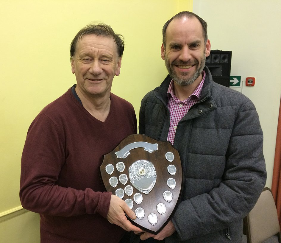 Camberley Chess Club 2016 Outstanding Player of the Year Award